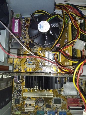 Процессор Intel Pentium E2180 + материнская плата ASUS P5B+ ОЗУ