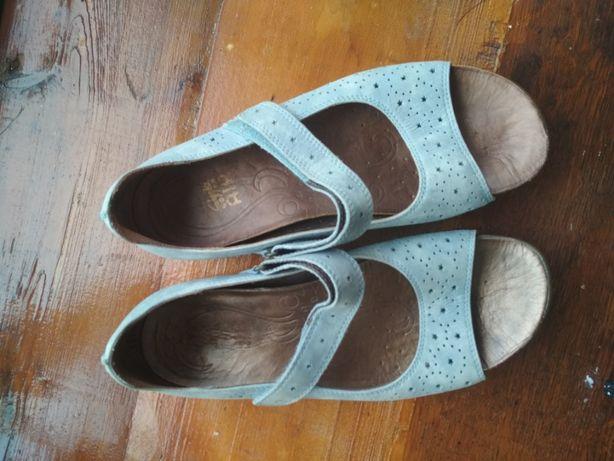 Clarks Босоножки/босоніжки сандали женские/жіночі кожаные шкіряні