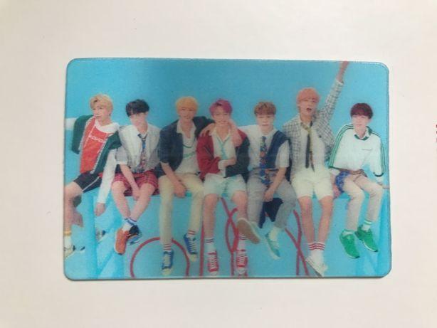 BTS photocard Love Yourself: Answer lenticular limitowana