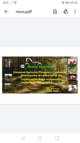Limpezas agrícolas florestais e industriais