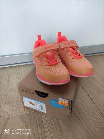 Buty sneakersy HI-TEC pomarańczowe rozmiar 32