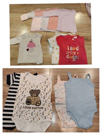 Ubranka dla niemowlaka 56-62