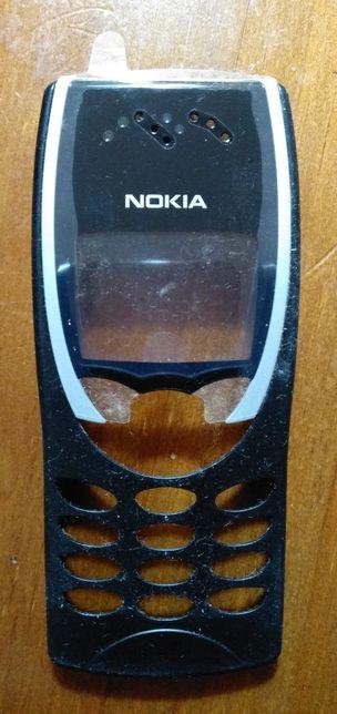 Capa de telemóvel original Nokia 8210 de cor preta (nunca usada)