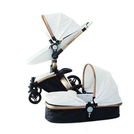 ОПТ! Детские коляски Ligero Lux (Aulon) 2в1, 3в1 - полностью эко-кожа