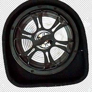 Сабвуфер активный автомобильный Zpx 500 Вт корпусной блютуз колонка