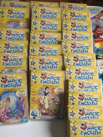 Kurs Magic English - płyty dvd 1 -26 + gratis bajki dvd