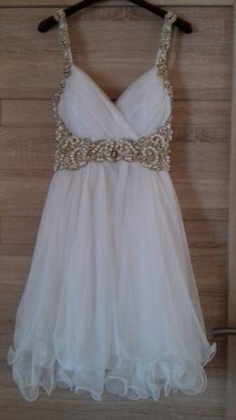 Sprzedam śliczna krótka suknie ślubną wizytowa