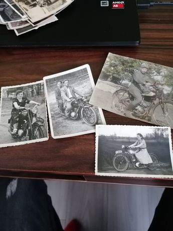 Antyk staroć fotografia motor motocykl stary