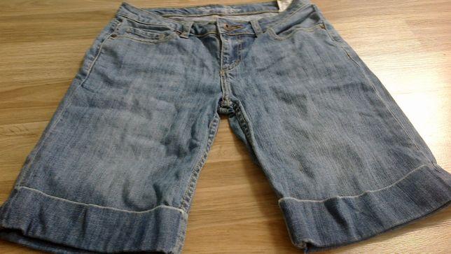 spodnie krótkie jeansowe damskie