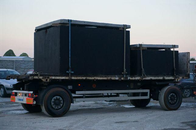 Zbiornik na gnojowicę gnojówkę szambo 12m3 szamba betonowe deszczówkę
