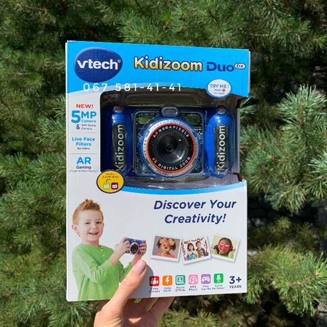 Kidizoom Duo DX camera 5.0 фотоапарат vtech синий