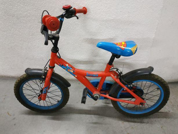 Bicicleta Super homem criança roda 12