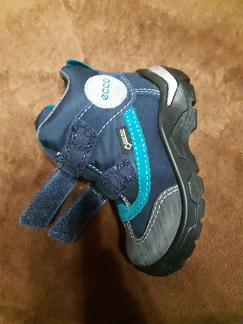 Ecco ботинки  23 , 14 см деми или теплая зима