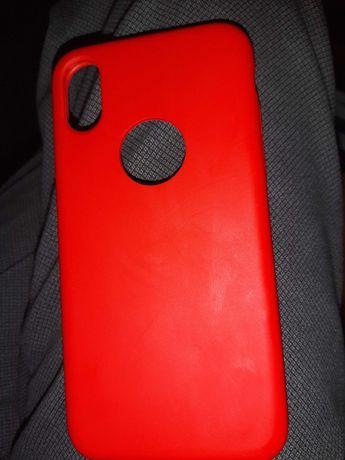 Capa Iphone XS - vermelha