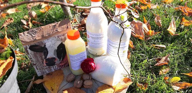 Sery, Mleko, Siara inne Z Ekologicznego Gospodarstwa