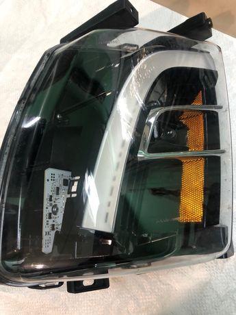 Противотуманная фара Tesla Model X Левая SAE BASE. USA 1034324-00-А