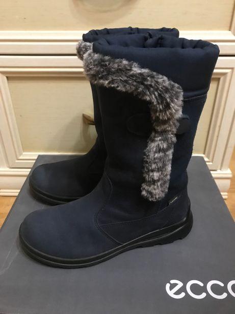 Зимние теплые сапоги Ecco 33 размер