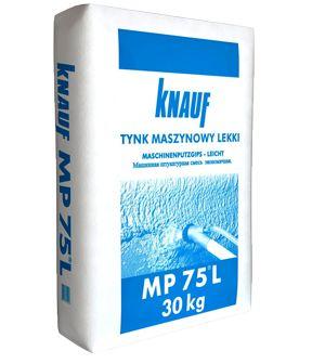 Tynk gipsowy lekki maszynowy KNAUF MP 75 L 30kg, tynki z dostawą HDS
