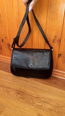 Фирменная кожаная сумка через плечо кросбоди PROXY оригинал