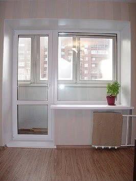 Балконный выход с работой 5350 грн. Самая низкая цена в городе