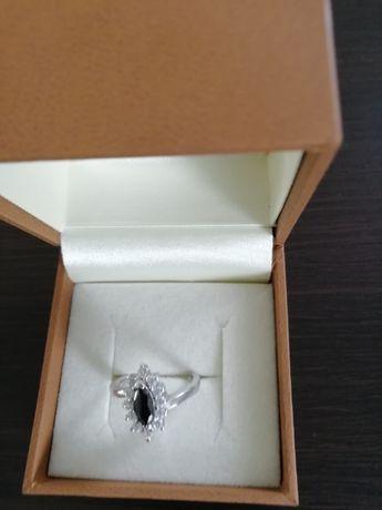 Pierścionek srebrny KRUK