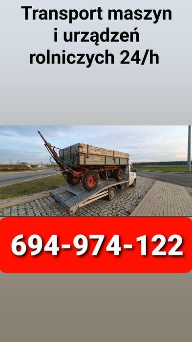 Pomoc Drogowa 24h Usługi transportowe maszyn i urządzeń rolniczych. Radom - image 1