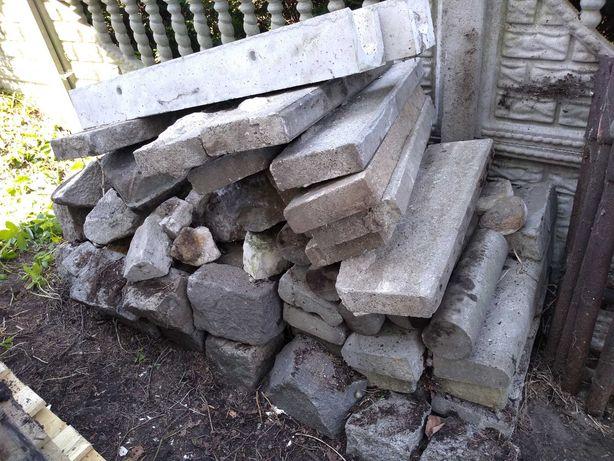 Bloczki granitowe i inne betonowe bloczki tanio