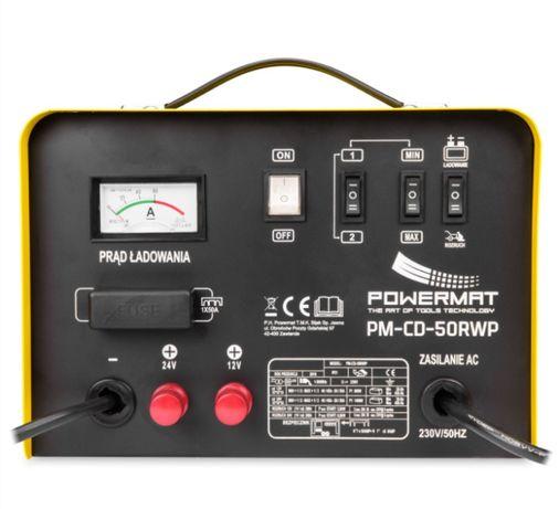Prostownik akumulatorowy 12/24V z rozruchem 200A + PILOT 20-450 Ah