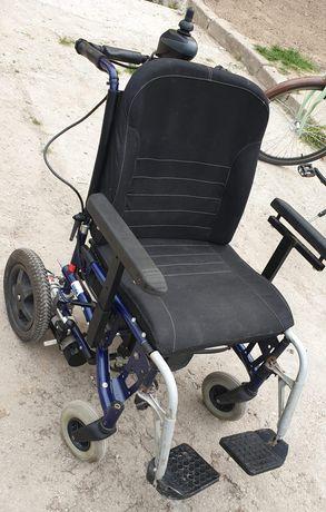 Wózek inwalidzki, Elektryczny Rapido 50 Vermeiren.Stan Dobry, ZAMIANA.