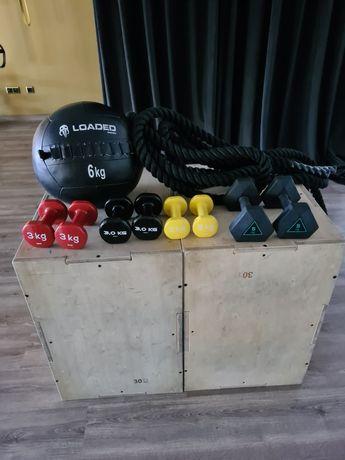 Material de treino