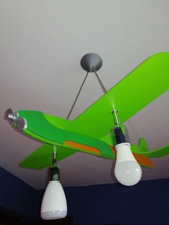 Lampa samolot dla dzieci