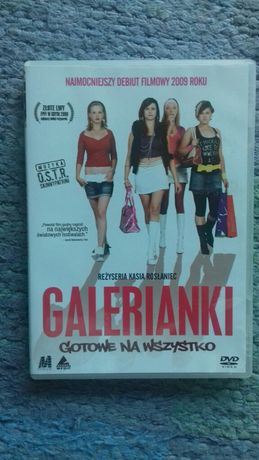 "film DVD ""Galerianki"""