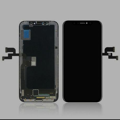 Wyświetlacz iPhone X wymiana 15min OLED 399ZL Warszawa Promocja
