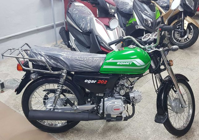 Romet Ogar 202FI Zielony 4T 50cc 2021r. Nowy! Salon! Gwarancja! Raty!