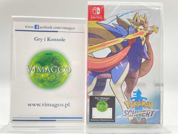 Pokemon Sword Nintendo Switch Sklep Vimagco Bydgoszcz