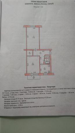 Продам 2-хкомнатную квартиру ПМЗ (Полигон)