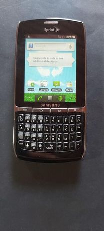 Samsung de teclado e ecrã táctil