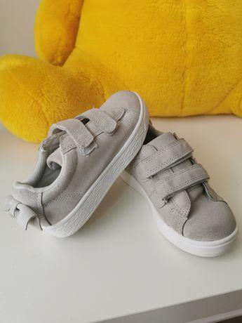 Skórzane tenisówki buty adidasy Reserved