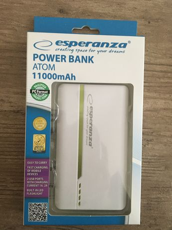 Power bank 11 000 mAh - esperanza