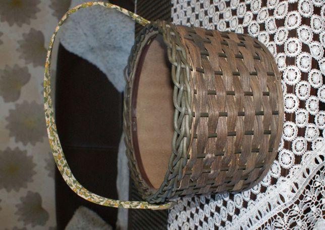 koszyk dekoracyjny z wikliny