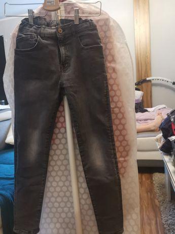 Spodnie jeansowe Zara roz. 152
