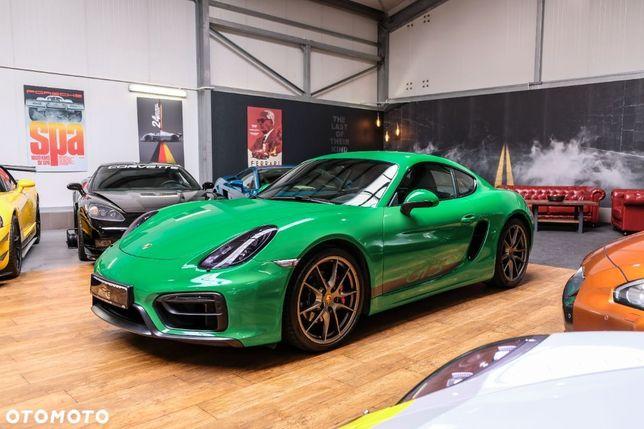 Porsche Cayman GTS 981, Python Green, VAT23%, 3.4 340KM, Carbon, Bose, Alcantara