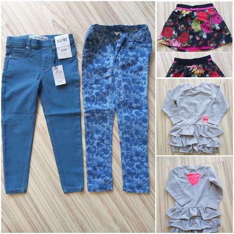Ubranka dla dziewczynki zestaw rozm 104, 3-4 latka