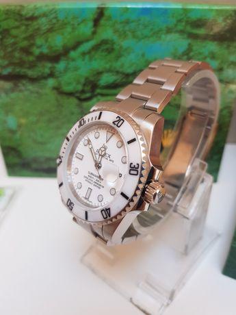 Zegarek męski Rolex Submariner nowy automat Premium AAA  biały  kruk
