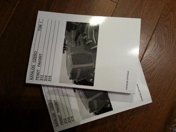 Katalog części Fendt Favorit 512, 514, 515