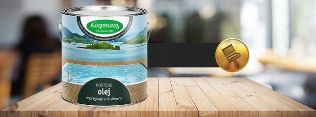 Koopmans Houtolie Olej drewna,tarasu 2,5L Kolor ecowoodpolska