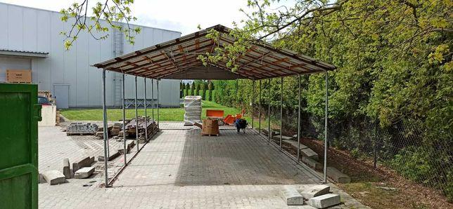 Namiot magazynowy, przemysłowy, hala rolnicza, 5x10x2,5m; używany