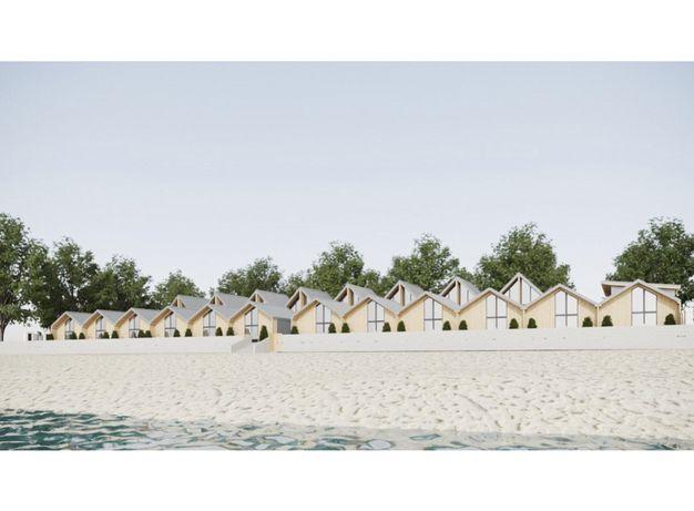 Земельна ділянка на березі Чорного моря з готовим проектом пансіонату