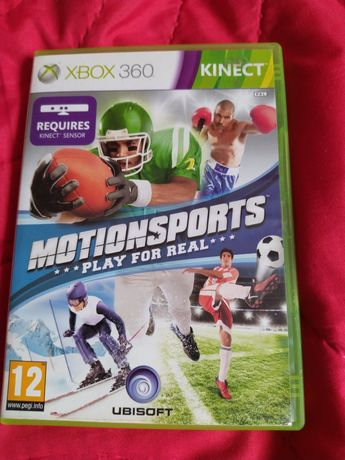 Xbox 360 gra na Kinect motionsports Play for real