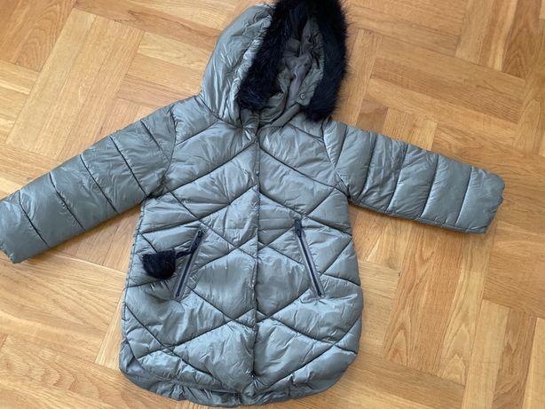 Zimowa kurtka Reserved rozm. 104